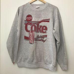 Vintage Coke Crewneck Sweatshirt